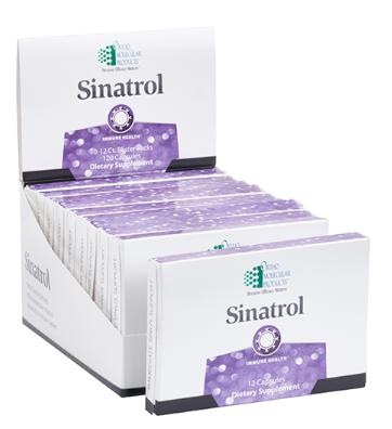 Sinatrol Blister Pack