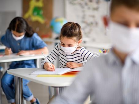 Apenas 3% dos alunos voltaram para aulas presenciais neste ano