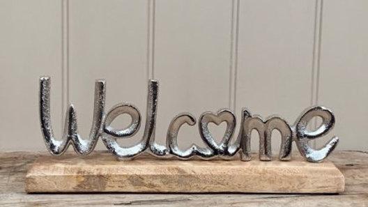 30cm Aluminimum Welcome Block