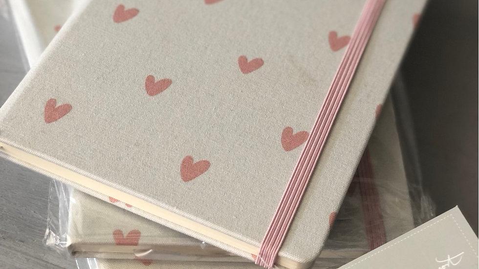 Sophie Allport Hearts Notebook