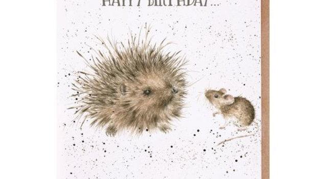 'Lovely Friend' Birthday card