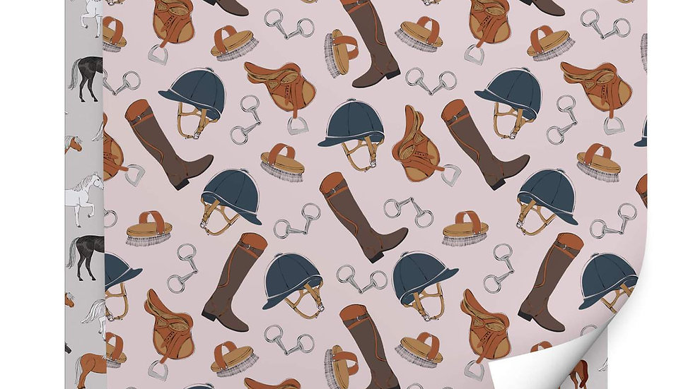 Equine Delight Wrapping Paper Pack