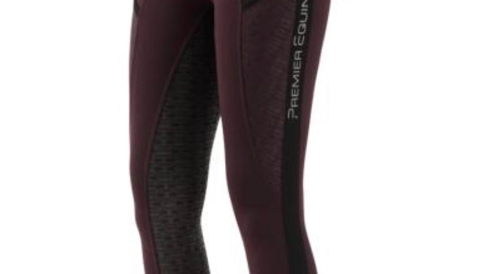 Premier Equine Ronia Ladies Gel Pull On Riding Tights