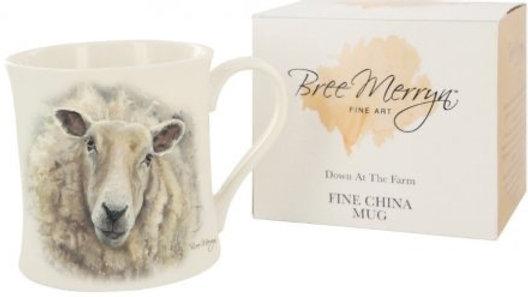 Sheila the Sheep Down At The Farm Mug Bree Merryn
