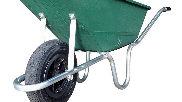 Reliance Green Wheelbarrow 110L