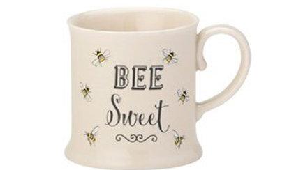 Bee Happy 'Bee Sweet' Small Tankard Mug