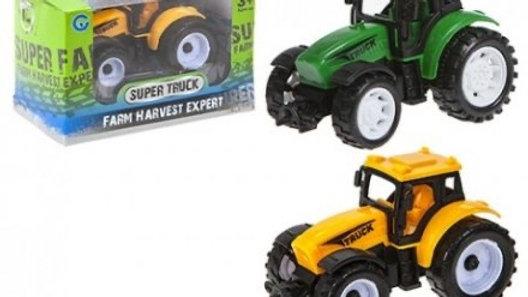Pull Back Tractors