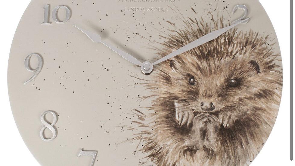 Wrendale Hedgehog Wall Clock