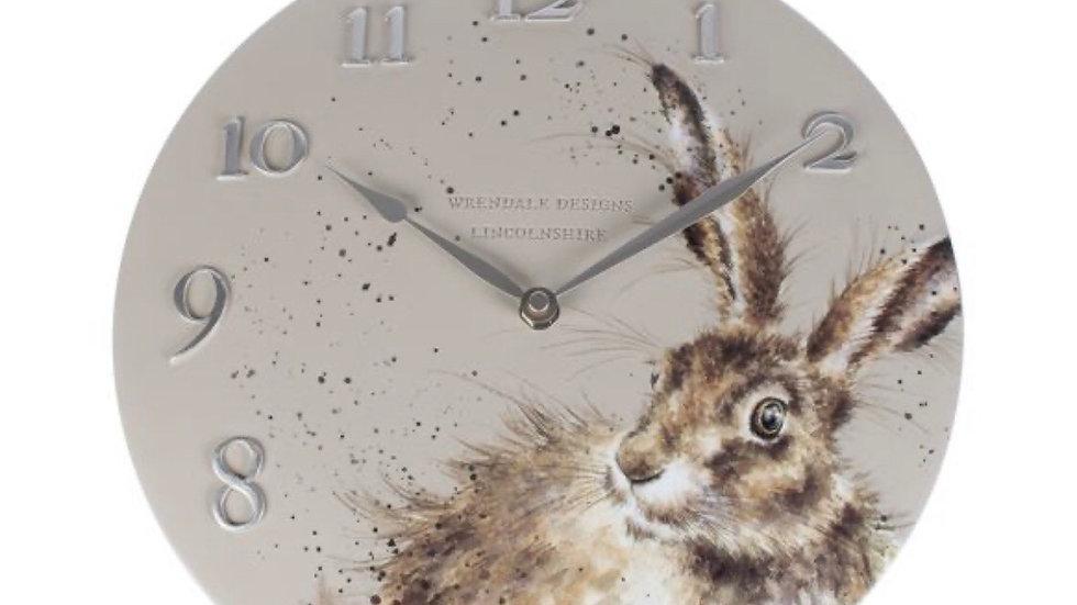 Wrendale hare clock