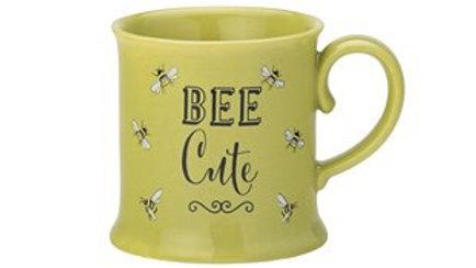 Bee Happy 'Bee Cute' Small Tankard Mug