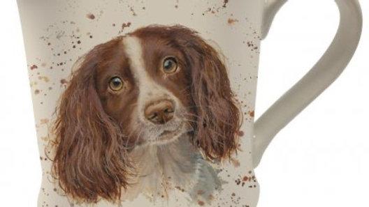 Bree Merryn Splash Art Spaniel Mug