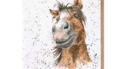 'Horse-ome' Birthday card