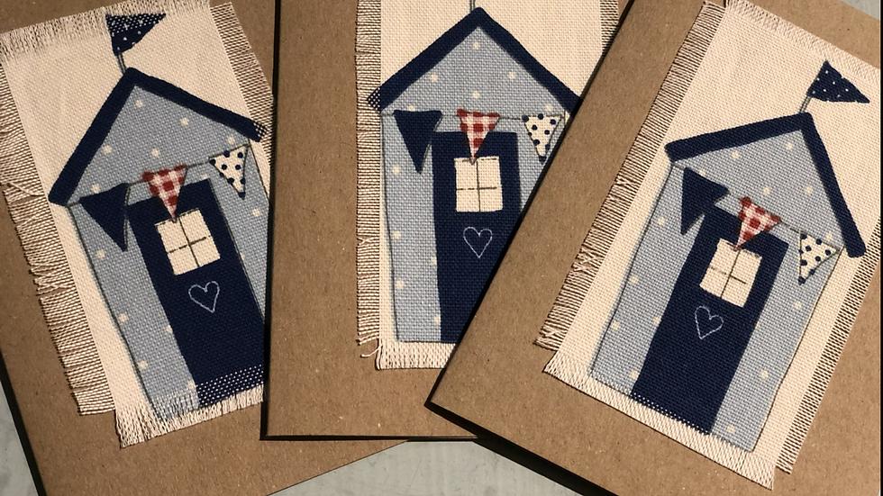 Hand made nautical beach house cards