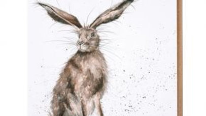 'Good Hare Day' card