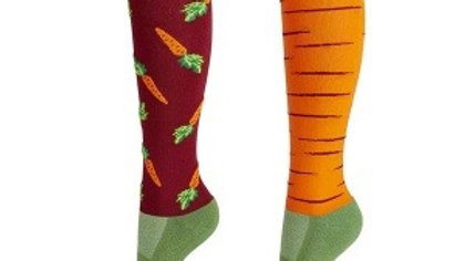 Elico Riding Socks - Carrot