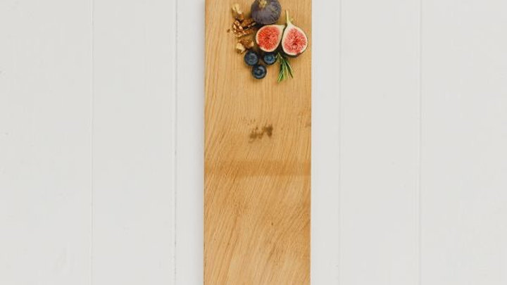 Long Bee Oak Serving Paddle