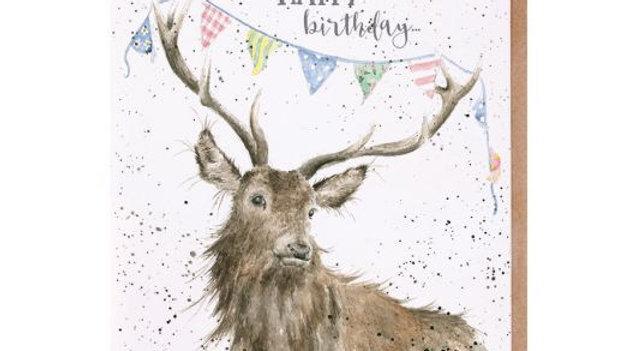 'Birthday Bunting' Birthday card