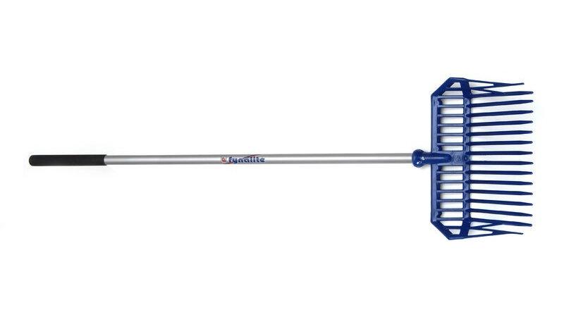 FynaLite Xlite Shavings Fork Long Aluminium Handle 137 cm