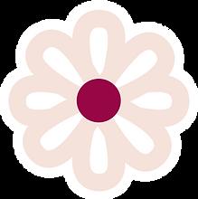 Fofas flower white border.png