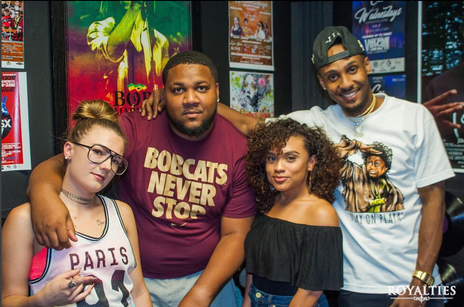 Royalties Radio Show Team