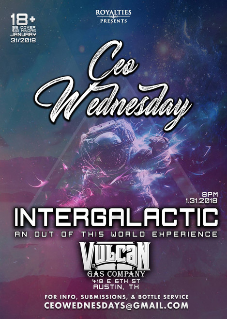 CEO Wednesday goes Intergalactic!