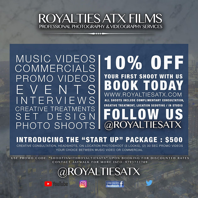 10% Discounts for All Our Services | Photography Videography