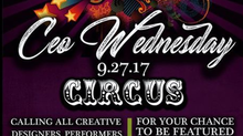 27 Sept CEO Wednesdays Circus Edition