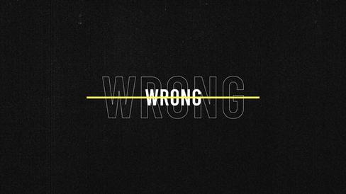Wrong (official MV)