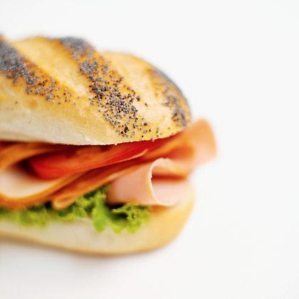 Belegd Broodje met groentjes