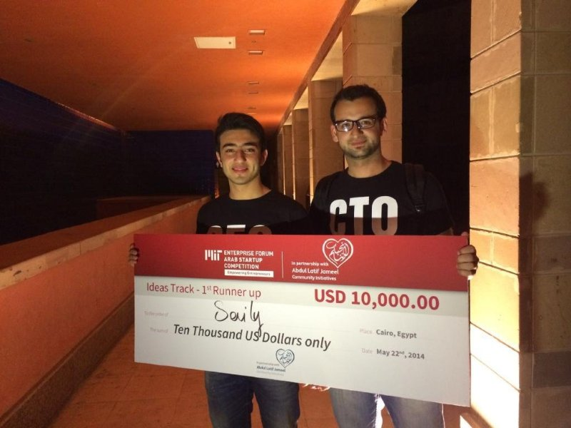Winning MIT EF Competition