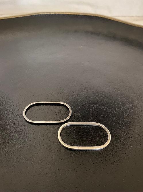 Bague minimaliste double doigt