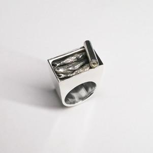 「 Oil sardine ring # 2 」