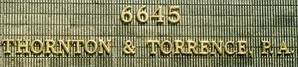 Thornton & Torrence PA