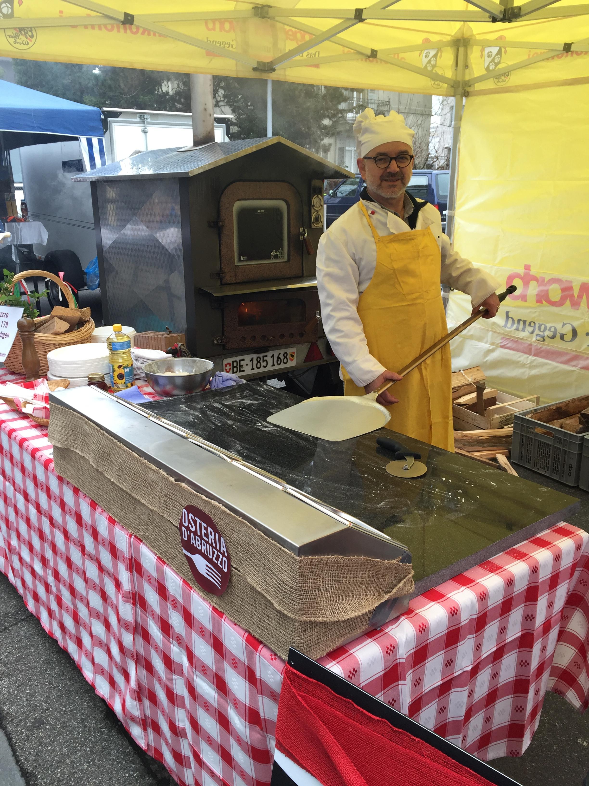 Raffaele - Chef und Pizzaiolo