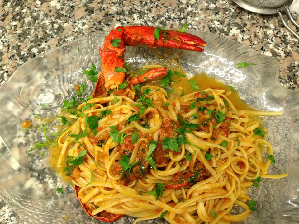 Linguine all'astaco