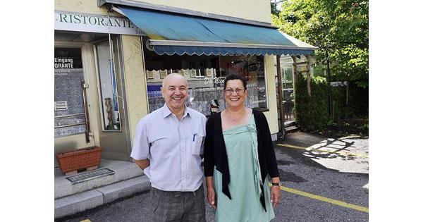 Raffaele und Fatima Cesarano
