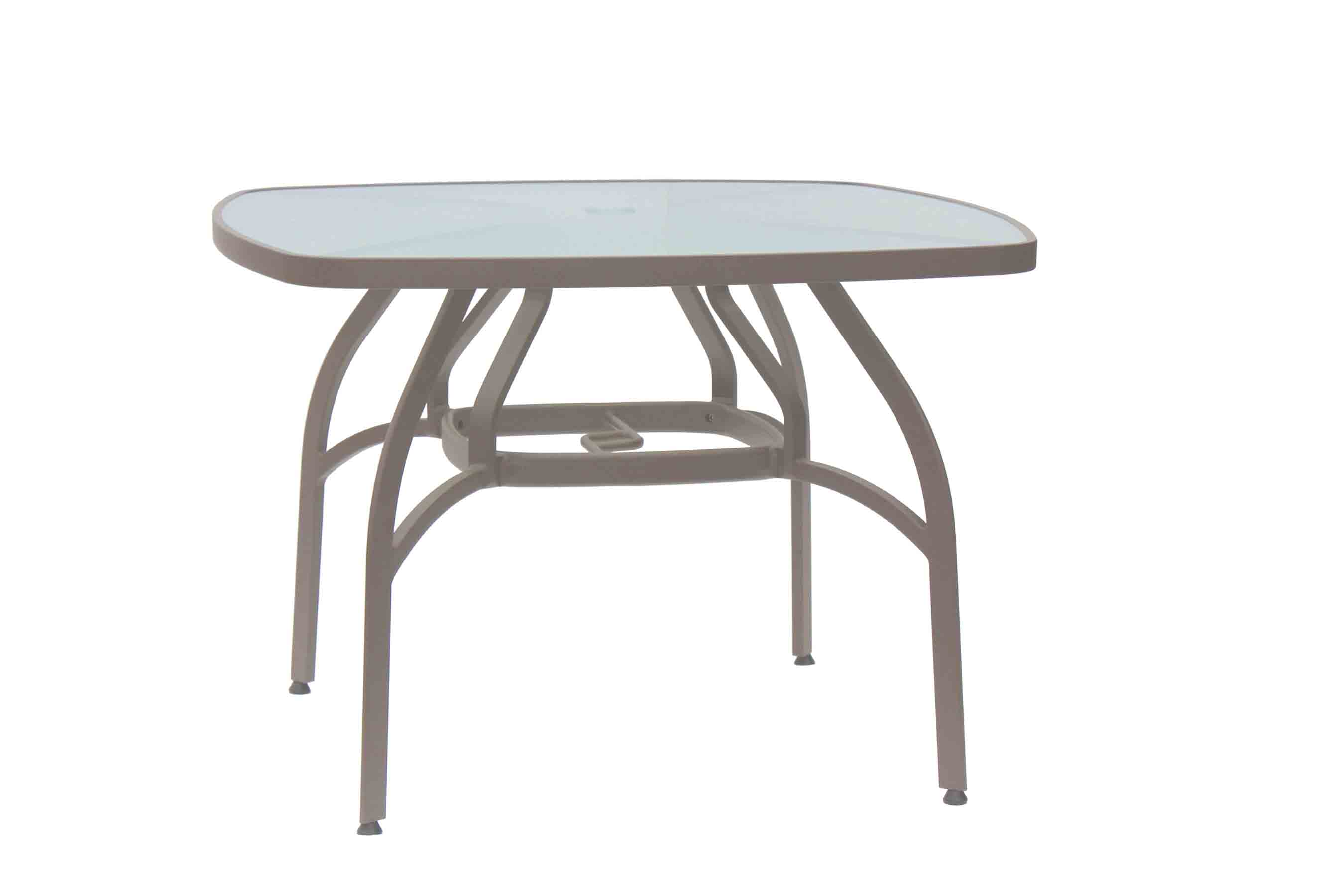 "PISA 40"" SQUARE DINING TABLE"
