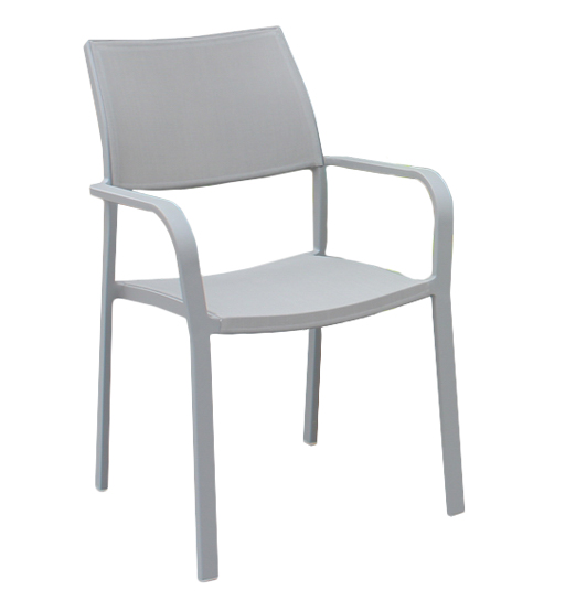 NASHVILLE STACKING ARM CHAIR
