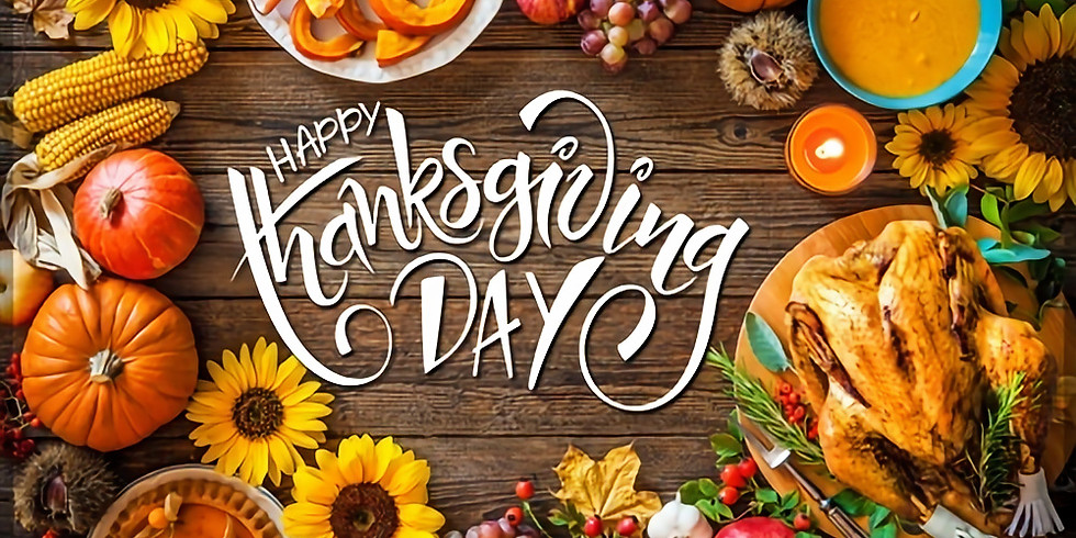 EMAIL OR CALL FOR Thanksgiving Curbside Catering