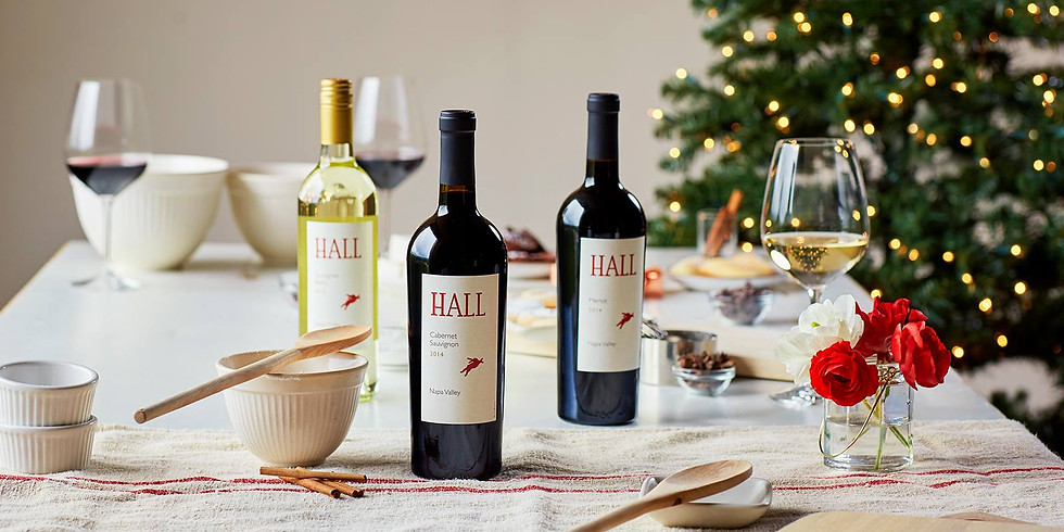 Wine Makers Dinner with Hall Wines
