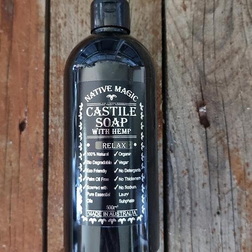 Castile Hemp Soap (Relaxation Blend)