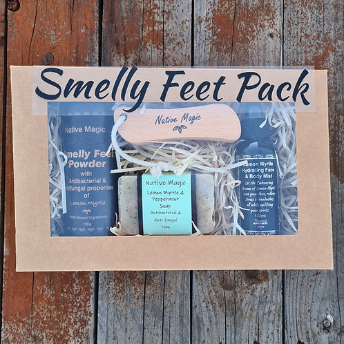 Wholesale Smelly Feet Pack with Foot Spray