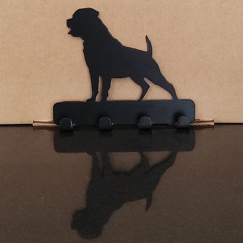 Rottweiler Key/Lead Holder