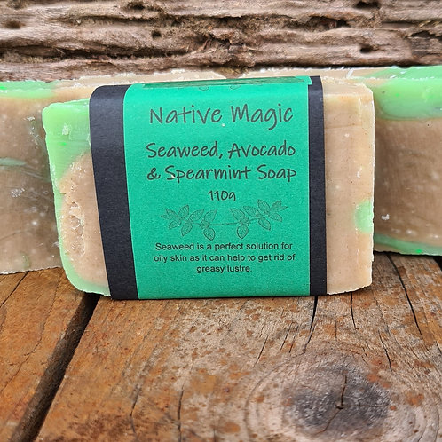 Wholesale Seaweed, Avocado & Spearmint Soap