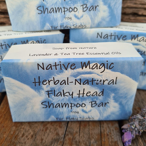 Flaky Head Shampoo Bar