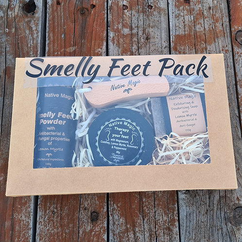 Smelly Feet Pack with Foot Rub