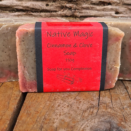 Wholesale Cinnamon & Clove Soap
