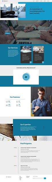 Ergonosys Website Screenshot