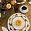 Thumbnail: 'Pumpkin' Teacup & Saucer