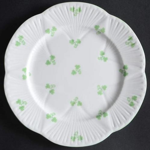 Vintage Shelley 'Dainty Shamrock' Luncheon Plate